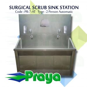 Scrub Station 2 Person Automatic