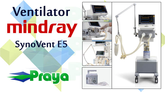 Ventilator Mindray SynoVent E5
